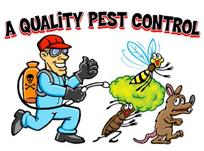 A Quality Pest Control Logo